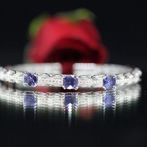 925 S Tacori Royal Blue Topaz Sexy Bracelet
